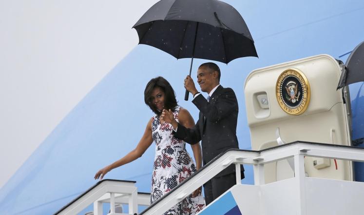 اوباما يصل كوبا
