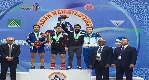 رباع عراقي يحرز 3 اوسمة في بطولة اسيا