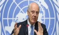 دي ميستورا يدعو لاجتماع طارئ لانقاذ المفاوضات السورية