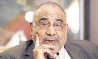 عبد المهدي:اعلان النصر المبكر في تحرير الفلوجة قد يتحول الى هزيمة