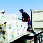 مصادر:المساعدات السعودية لنازحي الانبار تم بيعها من قبل ؟؟والرواي!