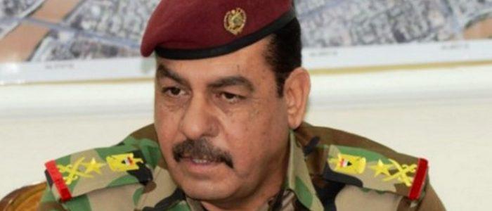 اعفاء الفريق الركن محمد رضا من حماية المنطقة الخضراء