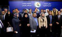 النواب المعتصمين:لن نحضر اي جلسة برلمانية برئاسة الجبوري
