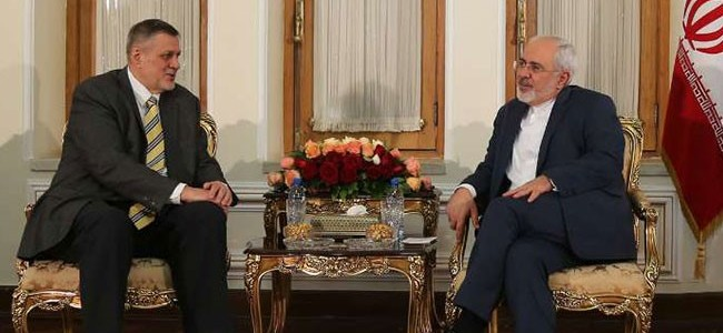"""النفاق الايراني..ظريف يدعو الى """"العقلانية"""" في احتواء الازمة السياسية العراقية"""