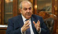 علاوي:ما يجري في العراق معارك تطهير مذهبي من قبل المليشيات الحكومية!
