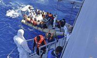 إنقاذ 5600 مهاجر في البحر المتوسط خلال يومين