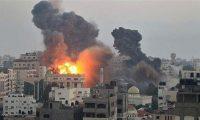 الطيران الاسرائيلي يشن غارات على مواقع حماس في غزة