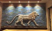مطعم عشتار في ولاية ميشيغان الامريكية يتزين بجداريات من حضارات العراق