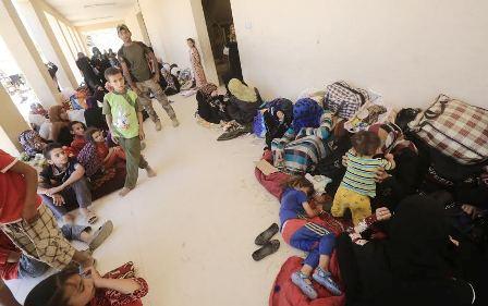 """الهجرة الدولية:الوضع الانساني لنازحي الفلوجة """"كارثي"""""""