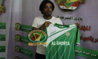 اللاعب فيصل جاسم ضمن نادي الشرطة الرياضي