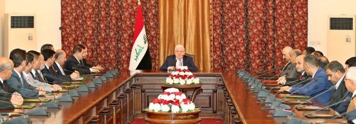 معصوم يؤكد على إحياء الاثار والتراث العراقي