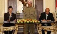 الدفاع:مذكرة التفاهم بين الولايات المتحدة وكردستان بموافقة الحكومة الاتحادية!