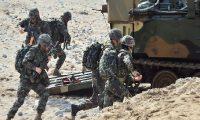 اليوم..انطلاق مناورات عسكرية كورية أمريكية