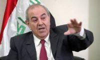 السراب..علاوي:نسعى لاعادة العراق الى حاضنته العربية