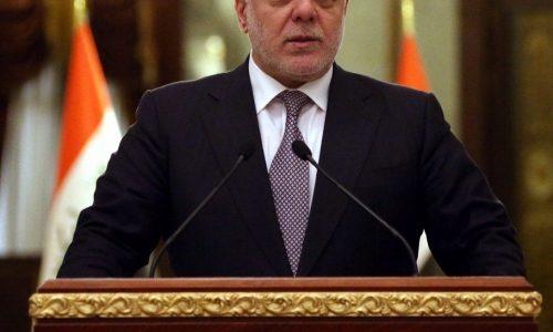 العبادي يعلن الاتفاق مع الاقليم على آلية تحرير الموصل ويدعو للإبتعاد عن تسييس استجواب الوزراء