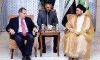 الحكيم والسفير الامريكي يبحثان استعدادات معركة تحرير الموصل