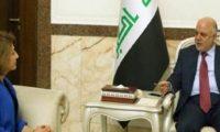 طالباني:العبادي أيد إجراء الانتخابات في كركوك وحل مشاكل الاقليم المالية
