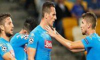 نابولي الإيطالي يحقق فوزا على ضيفه بنفيكا البرتغالي
