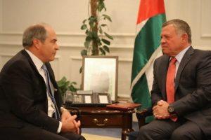 العاهل الأردني يكلف هاني الملقي بتشكيل حكومة جديدة