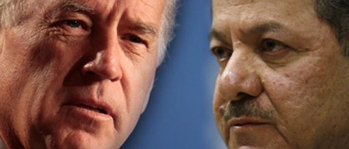 بايدن يهاتف البرزاني ويقول له:استثمر الزيارة لصالح كردستان!