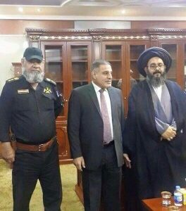 محافظ صلاح الدين يستقبل وفد كتائب حزب الله!