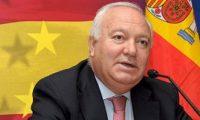 وزير خارجية اسبانيا يصل بغداد