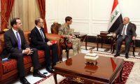 العبادي وفوتيل يبحثان الدعم اللوجستي وحماية الحدود العراقية