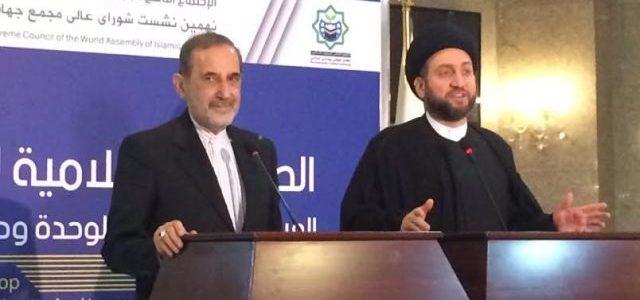 سموم الخطاب الإيراني وتقديس الأنا..الحكيم وولايتي:العراق وإيران في حماية قداسة خامئني!