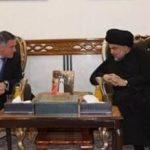 للمرة الاولى..الصدر يستقبل سفير الاتحاد الأوروبي في العراق
