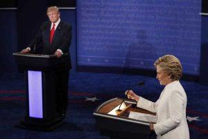 المناظرة الاخيرة بين كلينتون وترامب..سجالا حاداً حول الوضع العراقي والسوري