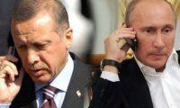 بوتين واردوغان يبحثان هاتفيا تطورات الموقف السوري