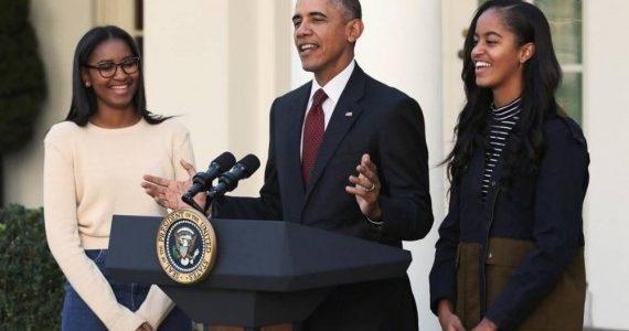 أوباما يشجع ابنتيه على الانضمام للجيش