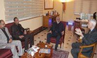 """""""أبو دكة"""":نعمل على تعزيز العمل التجاري بين"""" باريس والعتبة الحسينية""""!"""