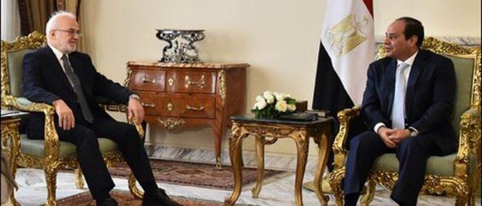 السيسي يؤكد دعم مصر المتواصل للعراق