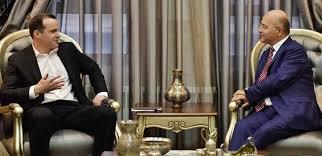 صالح وماكغورك يؤكدان على تجاوز الازمة السياسية والاقتصادية في كردستان