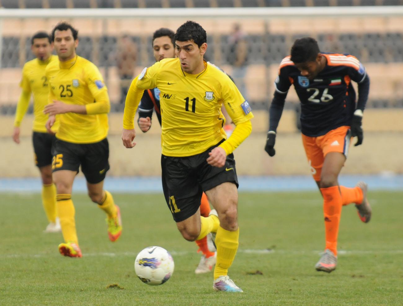 نادي اربيل ينسحب من الدوري العراقي