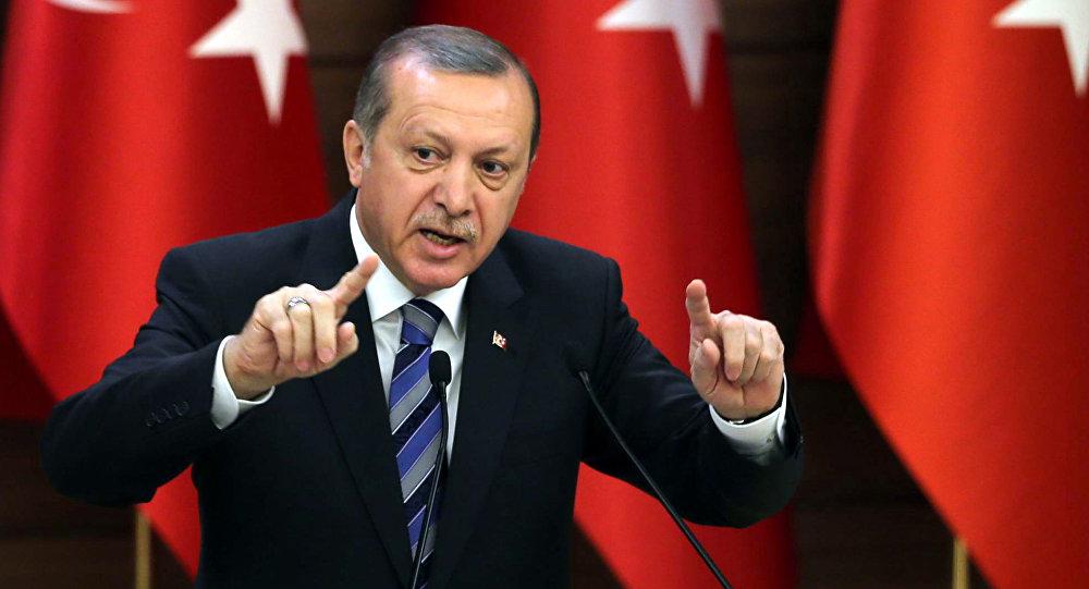 أردوغان:تركيا لن تغض النظر عن الأزمة الإنسانية في العراق