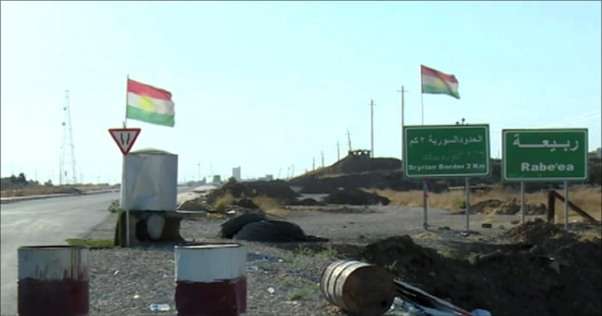 بينما القوات العراقية تتقدم  لاستكمال تحرير الموصل خارطة كردستان تتمدد!