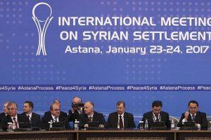 دي ميستورا:استئناف المفاوضات بين أطراف الأزمة السورية في أستانا