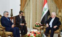 بروجردي لمعصوم:أمن العراق ضمن المنظومة الأمنية الإيرانية!!