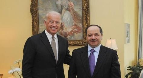 رئاسة الإقليم:علاقة بايدن بالبرزاني تمتد منذ 18 عاما وهو صديق الشعب الكردي