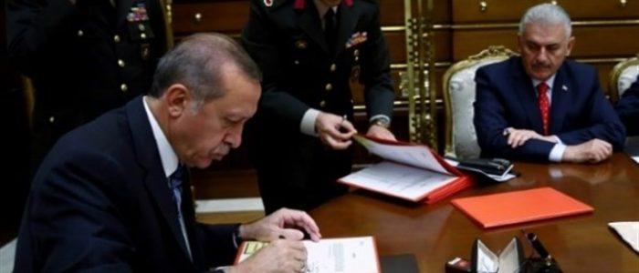 إردوغان يقر مشروع قانون التعديلات الدستورية