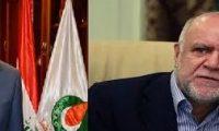 وزير النفط الإيراني يصل بغداد ويجتمع فورا مع نظيره العراقي