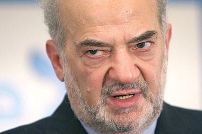 """الجعفري:العبادي أمر بعدم التصريح بشأن تفاصيل زيارة الجبير إلى بغداد""""احتراما لمشاعر الإخوة في الحشد الشعبي""""!!"""
