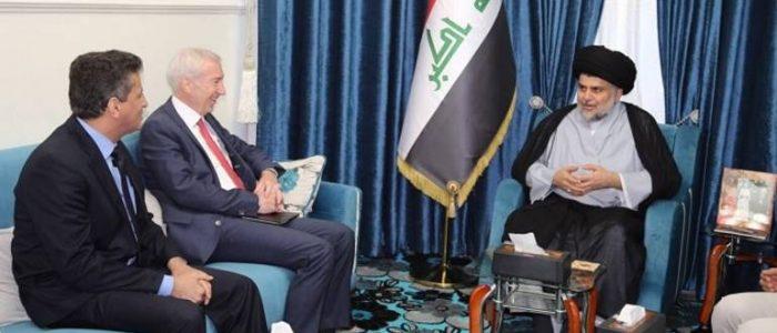 الصدر ويوزيف يبحثان الوضع العراقي ما بعد داعش