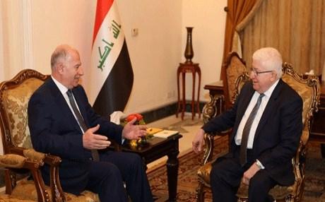 معصوم والنجيفي يؤكدان على حماية المدنيين في معركة الموصل