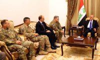 العبادي وميلي يبحثان تعزيز التعاون العسكري بين بغداد وواشنطن