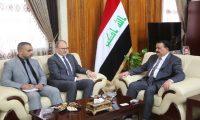 الحيالي وسيليمان يبحثان الجانب العسكري ما بعد داعش