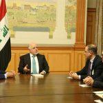 العبادي وروس يؤكدان على استمرار التعاون التجاري بين العراق والولايات المتحدة