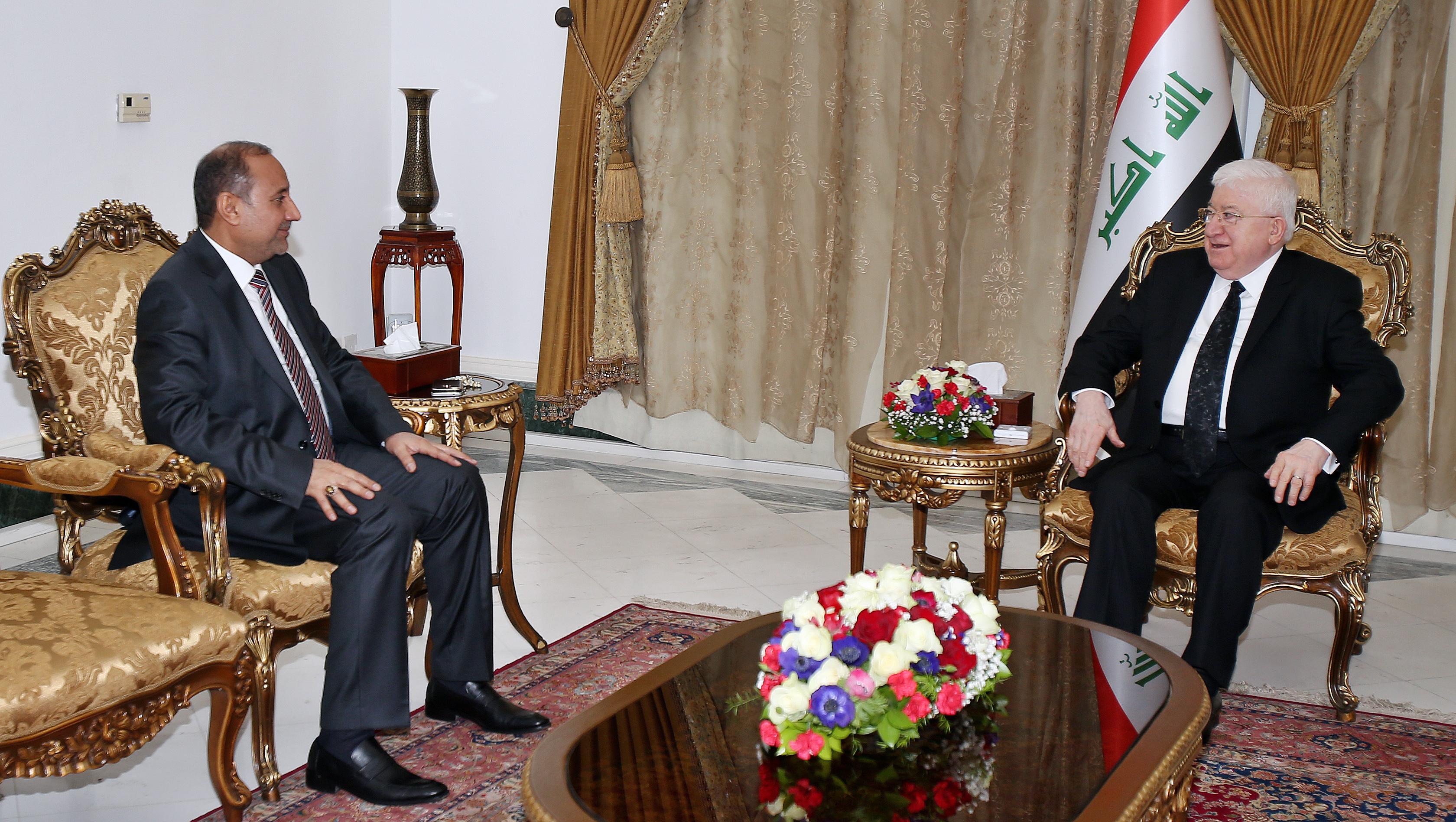 معصوم لمحافظ بغداد:واقع الخدمات في بغداد لايليق بتأريخها